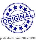 stamp, original, vector 28476890