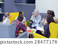 group of young people, Startup entrepreneurs 28477176