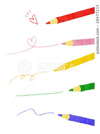 Colored pencils and graffiti 28477215