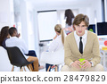 business, startup and people concept - happy 28479829