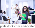 business, startup and people concept - happy 28479967