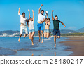 Friendship Freedom Beach Summer Holiday Concept - 28480247