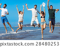 Friendship Freedom Beach Summer Holiday Concept - 28480253