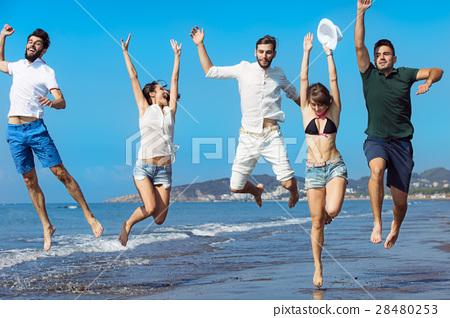 Friendship Freedom Beach Summer Holiday Concept - 28480253