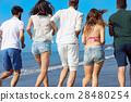 beach, summer, friends 28480254