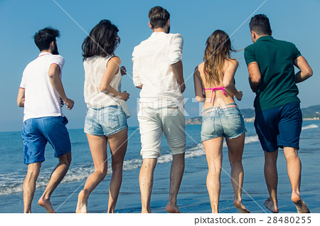 Friendship Freedom Beach Summer Holiday Concept - 28480255