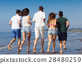 Friendship Freedom Beach Summer Holiday Concept - 28480259