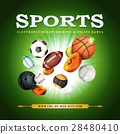 Sports Background 28480410