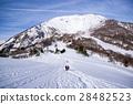 mt. ibukisan, mountain climbing, winter mountain 28482523