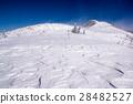 mount bunagatake, skovla, wind-wrought pattern on the sands 28482527