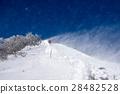 winter mountain, mountain climbing, shiga prefecture 28482528