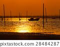 日落 夕阳 海岸 28484287