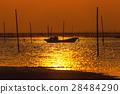 日落 夕阳 海岸 28484290