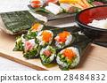 手卷寿司 寿司 紫菜卷醋饭 28484832