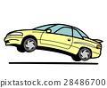 90年代風格的轎跑米色跳躍 28486700