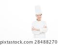 여성, 미소, 요리사 28488270