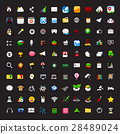 Set of 100 icon for mobile app and user interface  28489024