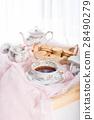 Morning tea concept. 28490279