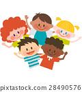 세계의 어린이들 28490576