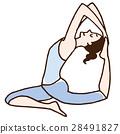 yoga, pose, posing 28491827