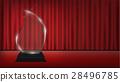 real 3d transparent acrylic trophy 28496785