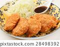 猪肉里脊肉片 厚鱼片 厚肉片 28498392