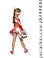 Young cheerleading girl 28498800