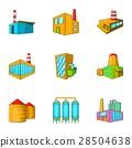 factory, icon, vector 28504638