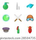 war, equipment, icon 28504735