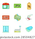 store, icon, vector 28504827