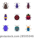 bugs icon vector 28505046