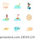 nautical, theme, icon 28505124