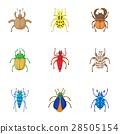 bugs icon vector 28505154