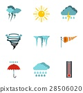 weather,icon,vector 28506020