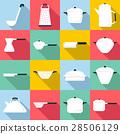 餐具 图标 一组 28506129