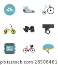 bicycle, parts, icon 28506461