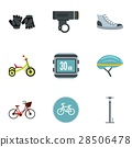 cycling icon vector 28506478