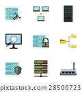 data, icon, vector 28506723