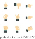 communication gestures icon 28506877
