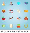 casino, game, icon 28507081