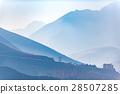 Isolated house among big hills 28507285
