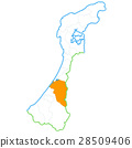 Kanazawa City and Ishikawa Prefecture Map 28509406