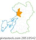 熊本市和熊本縣地圖 28510542