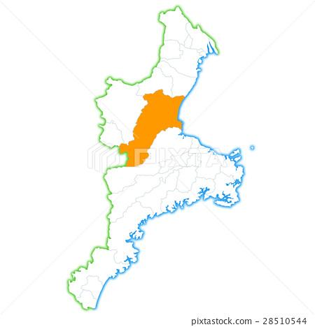 津市和三重縣地圖 28510544