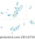 okinawa prefecture map, naha, okinawa prefecture 28510738