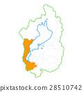 Otsu City and Shiga Prefecture Map 28510742