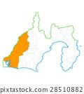 shizuoka prefecture map, map, hamamatsu city 28510882