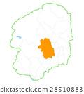 Utsunomiya City and Tochigi Prefecture Map 28510883