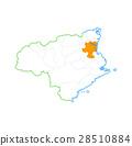 Tokushima City and Tokushima Prefecture Map 28510884