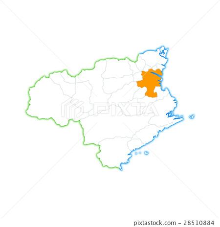 德島市和德島縣地圖 28510884